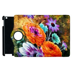 Flowers Artwork Art Digital Art Apple Ipad 3/4 Flip 360 Case