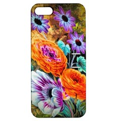Flowers Artwork Art Digital Art Apple Iphone 5 Hardshell Case With Stand