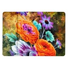 Flowers Artwork Art Digital Art Samsung Galaxy Tab 10 1  P7500 Flip Case