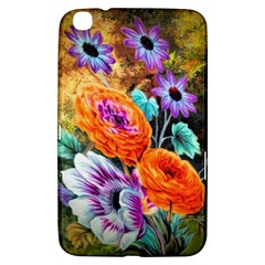 Flowers Artwork Art Digital Art Samsung Galaxy Tab 3 (8 ) T3100 Hardshell Case
