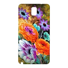 Flowers Artwork Art Digital Art Samsung Galaxy Note 3 N9005 Hardshell Back Case