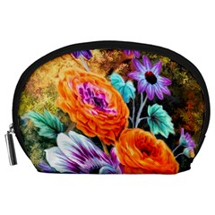 Flowers Artwork Art Digital Art Accessory Pouches (large)