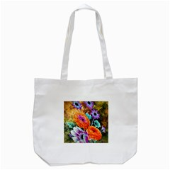 Flowers Artwork Art Digital Art Tote Bag (white)