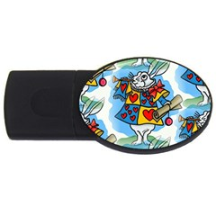Seamless Repeating Tiling Tileable Usb Flash Drive Oval (4 Gb)