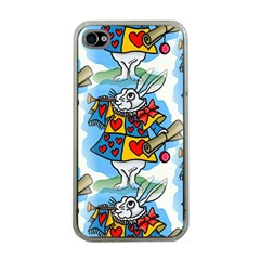 Seamless Repeating Tiling Tileable Apple Iphone 4 Case (clear)