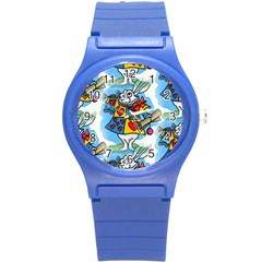 Seamless Repeating Tiling Tileable Round Plastic Sport Watch (s)
