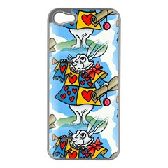 Seamless Repeating Tiling Tileable Apple Iphone 5 Case (silver)