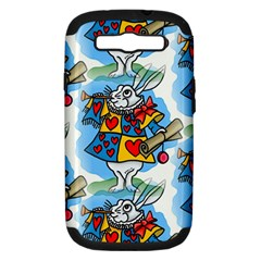 Seamless Repeating Tiling Tileable Samsung Galaxy S Iii Hardshell Case (pc+silicone)