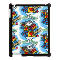 Seamless Repeating Tiling Tileable Apple iPad 3/4 Case (Black)