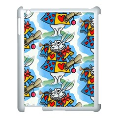 Seamless Repeating Tiling Tileable Apple Ipad 3/4 Case (white)
