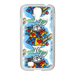 Seamless Repeating Tiling Tileable Samsung Galaxy S4 I9500/ I9505 Case (white)