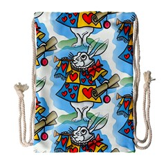 Seamless Repeating Tiling Tileable Drawstring Bag (large)