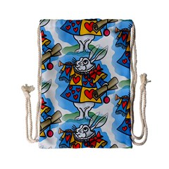 Seamless Repeating Tiling Tileable Drawstring Bag (Small)