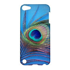 Peacock Feather Blue Green Bright Apple Ipod Touch 5 Hardshell Case