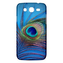 Peacock Feather Blue Green Bright Samsung Galaxy Mega 5 8 I9152 Hardshell Case