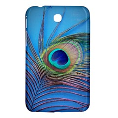 Peacock Feather Blue Green Bright Samsung Galaxy Tab 3 (7 ) P3200 Hardshell Case