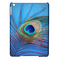 Peacock Feather Blue Green Bright Ipad Air Hardshell Cases