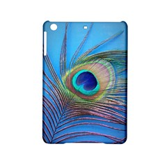 Peacock Feather Blue Green Bright Ipad Mini 2 Hardshell Cases