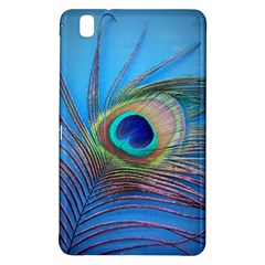 Peacock Feather Blue Green Bright Samsung Galaxy Tab Pro 8 4 Hardshell Case