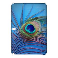 Peacock Feather Blue Green Bright Samsung Galaxy Tab Pro 12 2 Hardshell Case