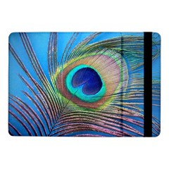 Peacock Feather Blue Green Bright Samsung Galaxy Tab Pro 10.1  Flip Case