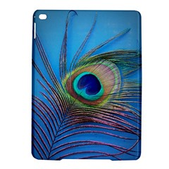 Peacock Feather Blue Green Bright Ipad Air 2 Hardshell Cases