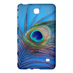 Peacock Feather Blue Green Bright Samsung Galaxy Tab 4 (8 ) Hardshell Case