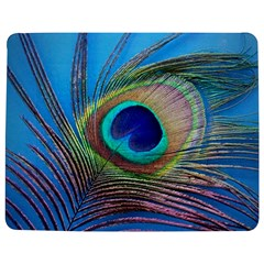 Peacock Feather Blue Green Bright Jigsaw Puzzle Photo Stand (rectangular)