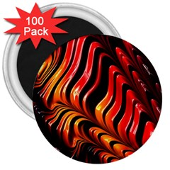 Abstract Fractal Mathematics Abstract 3  Magnets (100 Pack)