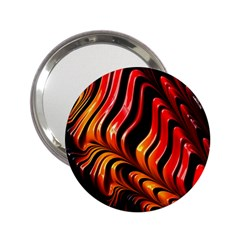 Abstract Fractal Mathematics Abstract 2.25  Handbag Mirrors