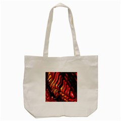 Abstract Fractal Mathematics Abstract Tote Bag (cream)