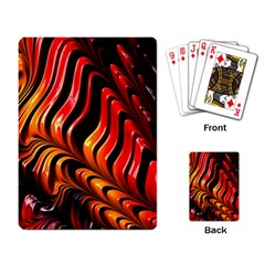 Abstract Fractal Mathematics Abstract Playing Card