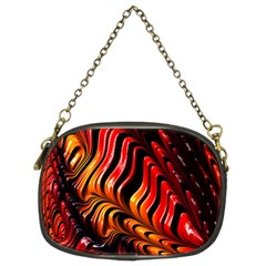 Abstract Fractal Mathematics Abstract Chain Purses (two Sides)