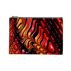 Abstract Fractal Mathematics Abstract Cosmetic Bag (large)