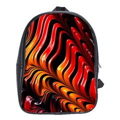 Abstract Fractal Mathematics Abstract School Bags(large)