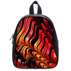 Abstract Fractal Mathematics Abstract School Bags (small)