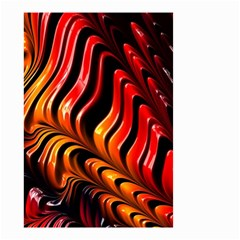 Abstract Fractal Mathematics Abstract Small Garden Flag (two Sides)