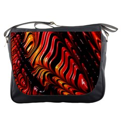 Abstract Fractal Mathematics Abstract Messenger Bags