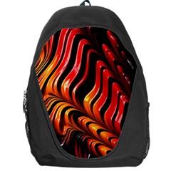 Abstract Fractal Mathematics Abstract Backpack Bag