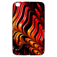 Abstract Fractal Mathematics Abstract Samsung Galaxy Tab 3 (8 ) T3100 Hardshell Case
