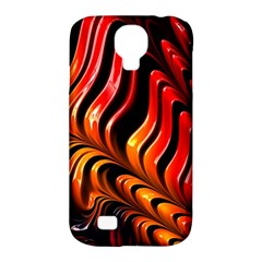 Abstract Fractal Mathematics Abstract Samsung Galaxy S4 Classic Hardshell Case (pc+silicone)