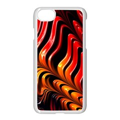 Abstract Fractal Mathematics Abstract Apple Iphone 7 Seamless Case (white)