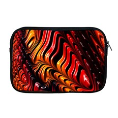 Abstract Fractal Mathematics Abstract Apple Macbook Pro 17  Zipper Case