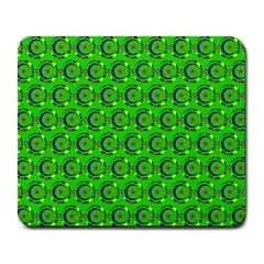 Abstract Art Circles Swirls Stars Large Mousepads