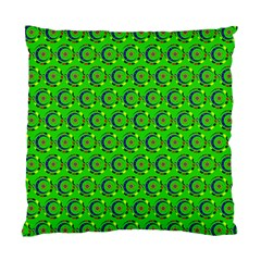 Abstract Art Circles Swirls Stars Standard Cushion Case (One Side)