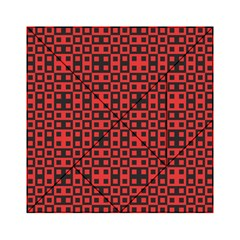Abstract Background Red Black Acrylic Tangram Puzzle (6  X 6 )
