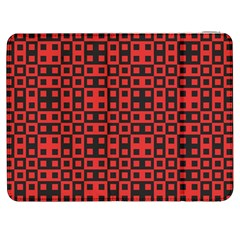 Abstract Background Red Black Samsung Galaxy Tab 7  P1000 Flip Case