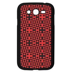Abstract Background Red Black Samsung Galaxy Grand Duos I9082 Case (black)