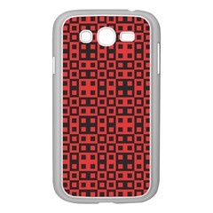 Abstract Background Red Black Samsung Galaxy Grand Duos I9082 Case (white)