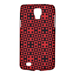 Abstract Background Red Black Galaxy S4 Active